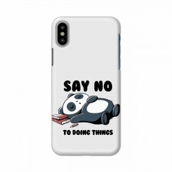 Buy Apple Iphone X Say No Mobile Phone Covers Online at Craftingcrow.com