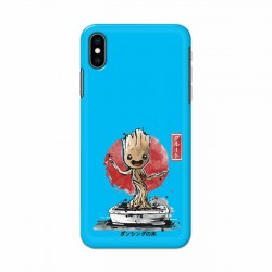 Buy Apple Iphone XS Bonsai Groot Mobile Phone Covers Online at Craftingcrow.com