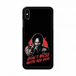 Buy Apple Iphone XS Dont Mess With my Dog Mobile Phone Covers Online at Craftingcrow.com