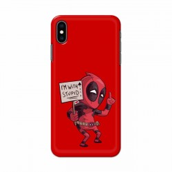 Buy Apple Iphone XS I am with Stupid Mobile Phone Covers Online at Craftingcrow.com
