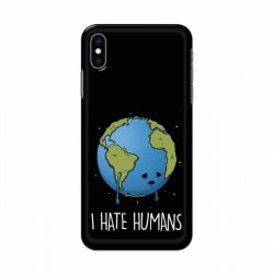 Buy Apple Iphone XS I Hate Humans Mobile Phone Covers Online at Craftingcrow.com