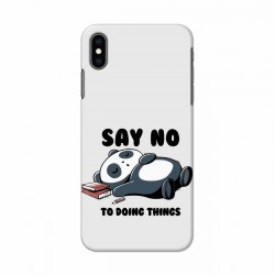 Buy Apple Iphone XS Say No Mobile Phone Covers Online at Craftingcrow.com