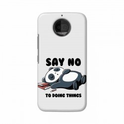Buy Motorola Moto G5S Plus Say No Mobile Phone Covers Online at Craftingcrow.com