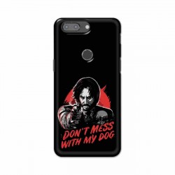 Buy One Plus 5t Dont Mess With my Dog Mobile Phone Covers Online at Craftingcrow.com