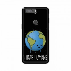 Buy One Plus 5t I Hate Humans Mobile Phone Covers Online at Craftingcrow.com