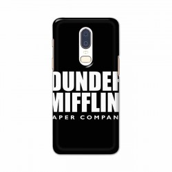 Buy One Plus 6 Dunder Mobile Phone Covers Online at Craftingcrow.com