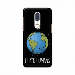 Buy One Plus 6 I Hate Humans Mobile Phone Covers Online at Craftingcrow.com