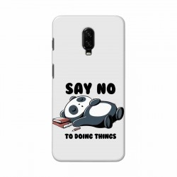 Buy One Plus 6t Say No Mobile Phone Covers Online at Craftingcrow.com