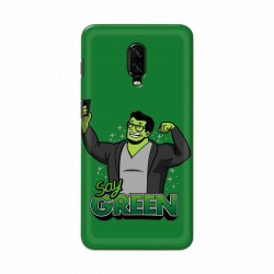 Buy One Plus 7 Say Green Mobile Phone Covers Online at Craftingcrow.com