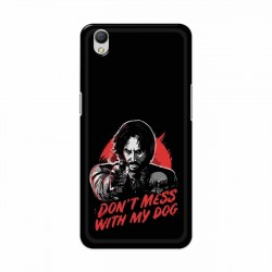 Buy Oppo A37 Dont Mess With my Dog Mobile Phone Covers Online at Craftingcrow.com