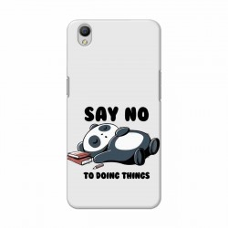 Buy Oppo A37 Say No Mobile Phone Covers Online at Craftingcrow.com