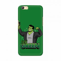 Buy Oppo A57 Say Green Mobile Phone Covers Online at Craftingcrow.com