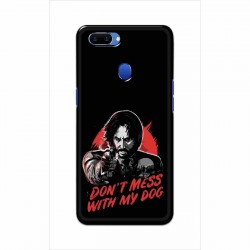 Buy Oppo A5 Dont Mess With my Dog Mobile Phone Covers Online at Craftingcrow.com