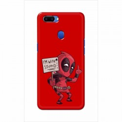 Buy Oppo A5 I am with Stupid Mobile Phone Covers Online at Craftingcrow.com