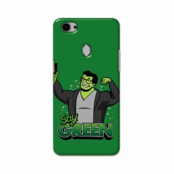 Buy Oppo F7 Say Green Mobile Phone Covers Online at Craftingcrow.com