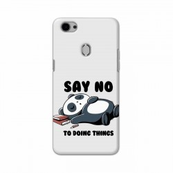 Buy Oppo F7 Say No Mobile Phone Covers Online at Craftingcrow.com