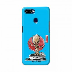 Buy Oppo F9 Bonsai Groot Mobile Phone Covers Online at Craftingcrow.com