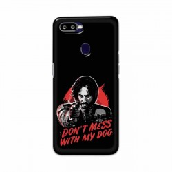 Buy Oppo F9 Pro Dont Mess With my Dog Mobile Phone Covers Online at Craftingcrow.com