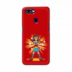 Buy Oppo F9 Pro Wondariya Woman Mobile Phone Covers Online at Craftingcrow.com
