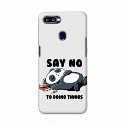 Buy Oppo F9 Say No Mobile Phone Covers Online at Craftingcrow.com