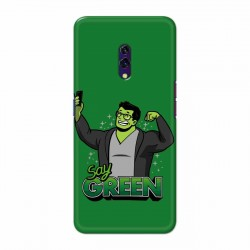 Buy Oppo K3 Say Green Mobile Phone Covers Online at Craftingcrow.com