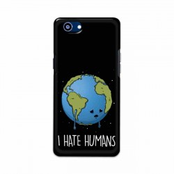 Buy Oppo Realme 1 I Hate Humans Mobile Phone Covers Online at Craftingcrow.com