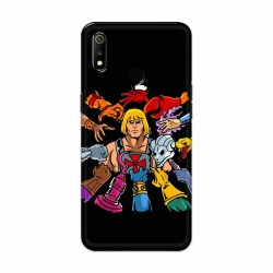 Buy Oppo Realme 3 He Wick Mobile Phone Covers Online at Craftingcrow.com