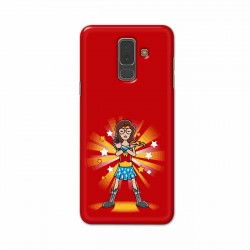 Buy Samsung A6 Plus Wondariya Woman Mobile Phone Covers Online at Craftingcrow.com