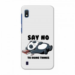 Buy Samsung Galaxy A10 Say No Mobile Phone Covers Online at Craftingcrow.com