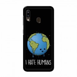 Buy Samsung Galaxy A20 I Hate Humans Mobile Phone Covers Online at Craftingcrow.com