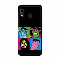 Buy Samsung Galaxy A20 Pop Samurai Mobile Phone Covers Online at Craftingcrow.com