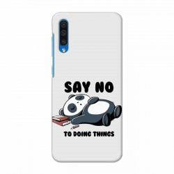 Buy Samsung Galaxy A50 Say No Mobile Phone Covers Online at Craftingcrow.com
