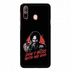 Buy Samsung Galaxy A60 Dont Mess With my Dog Mobile Phone Covers Online at Craftingcrow.com