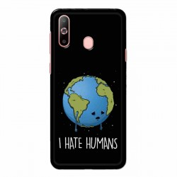Buy Samsung Galaxy A60 I Hate Humans Mobile Phone Covers Online at Craftingcrow.com