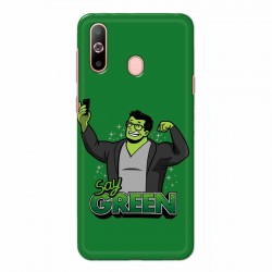 Buy Samsung Galaxy A60 Say Green Mobile Phone Covers Online at Craftingcrow.com