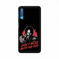 Buy Samsung Galaxy A7 2018 Dont Mess With my Dog Mobile Phone Covers Online at Craftingcrow.com