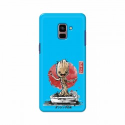 Buy Samsung Galaxy A8 Plus 2018 Bonsai Groot Mobile Phone Covers Online at Craftingcrow.com