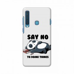 Buy Samsung Galaxy A9 2018 Say No Mobile Phone Covers Online at Craftingcrow.com