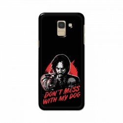 Buy Samsung Galaxy J6 2018 Dont Mess With my Dog Mobile Phone Covers Online at Craftingcrow.com