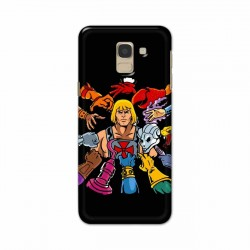 Buy Samsung Galaxy J6 2018 He Wick Mobile Phone Covers Online at Craftingcrow.com