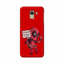 Buy Samsung Galaxy J6 2018 I am with Stupid Mobile Phone Covers Online at Craftingcrow.com