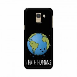 Buy Samsung Galaxy J6 2018 I Hate Humans Mobile Phone Covers Online at Craftingcrow.com