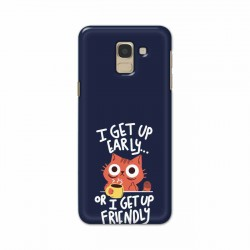 Buy Samsung Galaxy J6 2018 Morning Cat Mobile Phone Covers Online at Craftingcrow.com