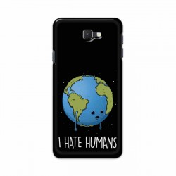 Buy Samsung Galaxy J7 Prime I Hate Humans Mobile Phone Covers Online at Craftingcrow.com