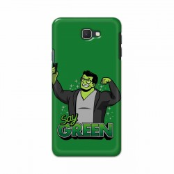 Buy Samsung Galaxy J7 Prime Say Green Mobile Phone Covers Online at Craftingcrow.com