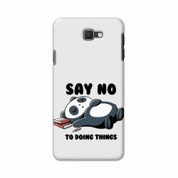 Buy Samsung Galaxy J7 Prime Say No Mobile Phone Covers Online at Craftingcrow.com