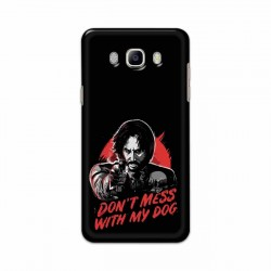 Buy Samsung Galaxy J8 Dont Mess With my Dog Mobile Phone Covers Online at Craftingcrow.com
