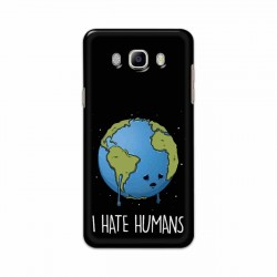 Buy Samsung Galaxy J8 I Hate Humans Mobile Phone Covers Online at Craftingcrow.com