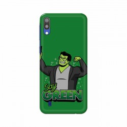 Buy Samsung Galaxy M10 Say Green Mobile Phone Covers Online at Craftingcrow.com