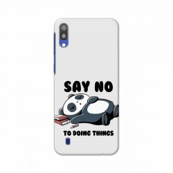 Buy Samsung Galaxy M10 Say No Mobile Phone Covers Online at Craftingcrow.com